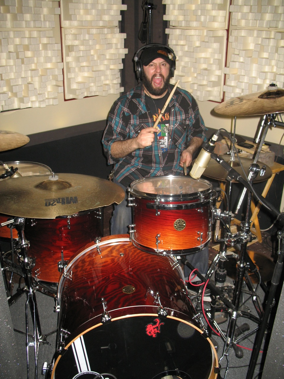 Kyng Back At Ultimate Rhythm Studio