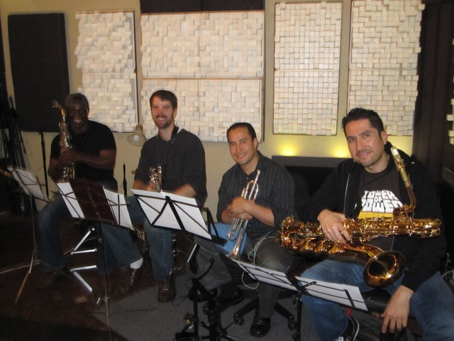 Right Hand Rule Horn Section Lays It Down