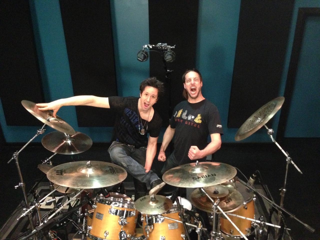 Glen Sobel Invades The Studio! (w/video)