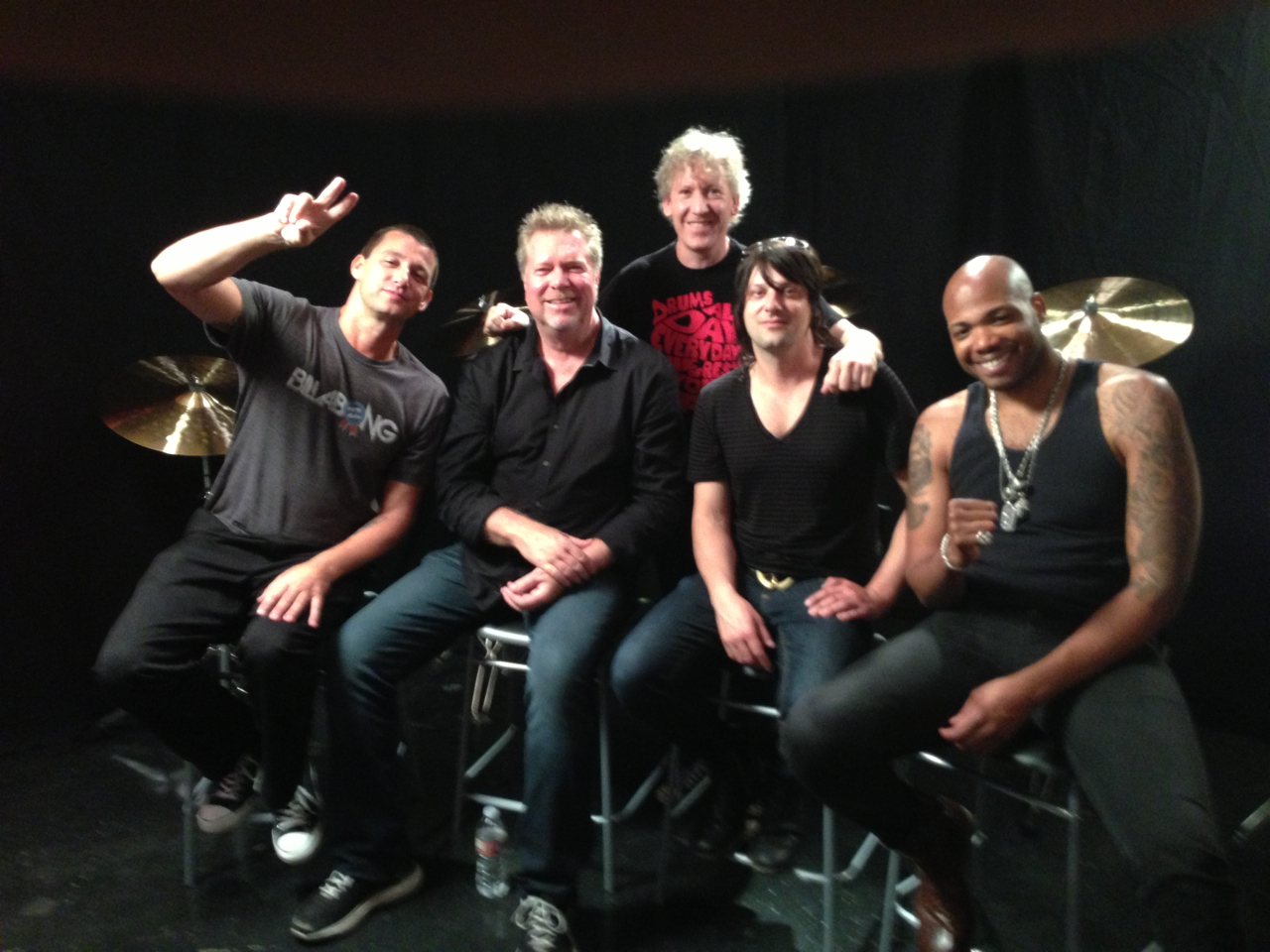 The Paiste Cymbals Crew Invades The Studio!