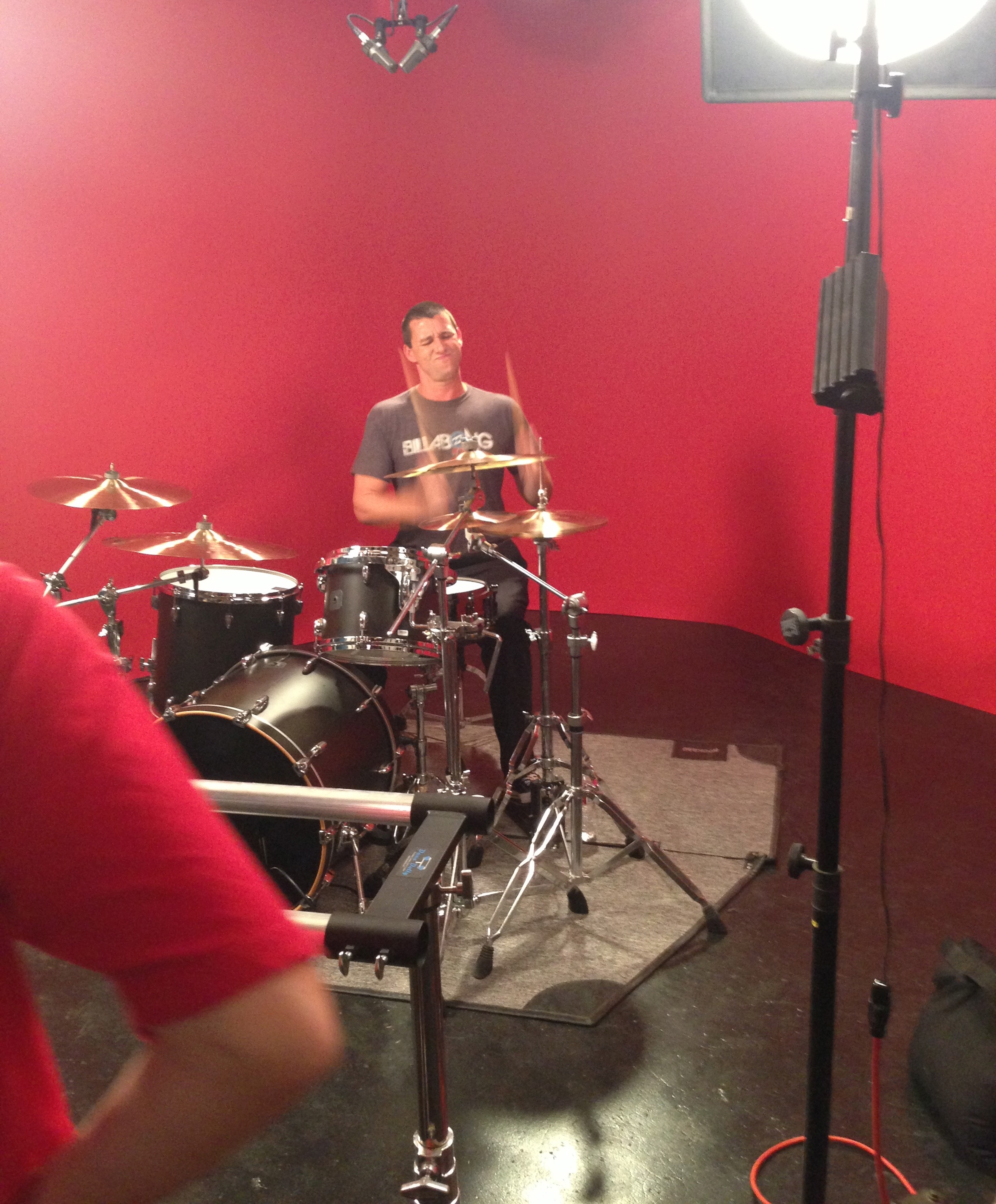 New Paiste Video Filmed At Ultimate Rhythm Studios! (w/video)