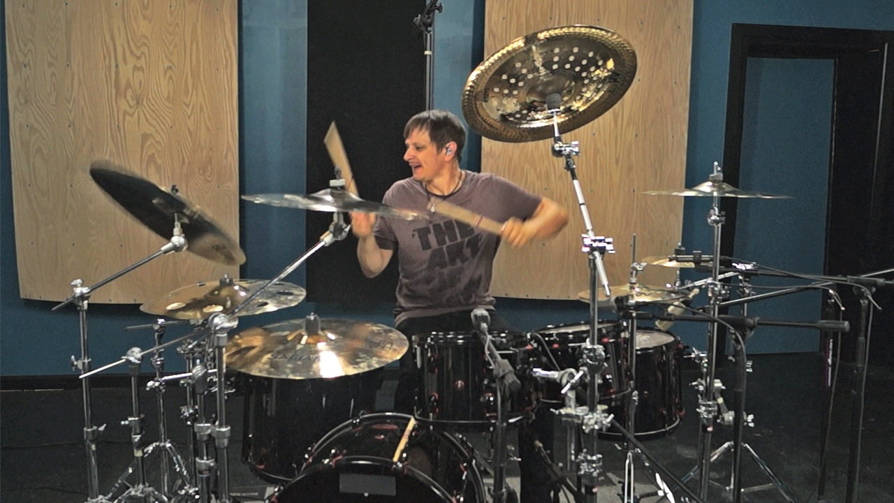 Korn's Ray Luzier In The Studio (w/video)