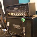 James' guitar rig side