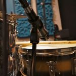 Audio Technica Pro63 on top of snare