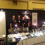 Charlie with Chris Nighman & Gary Boss of Audio-Technica