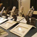 Audio-Technica's booth at PotluckCon 2014