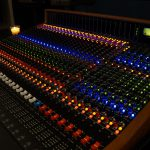 Trident 88 recording console