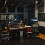 Ultimate Studios, Inc Control Room with the new Trident 88 recording console