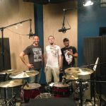 Recording Engineer Charlie Waymire, Drummer Stanley Love, and Guitarist Raz Azraai