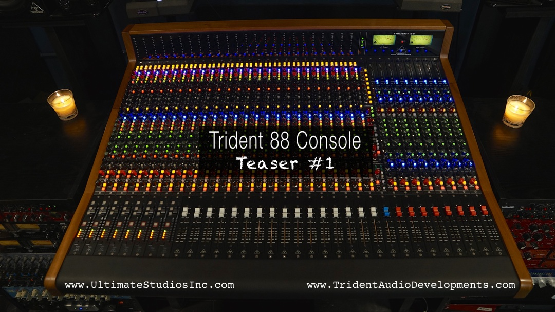 Trident 88 Teaser Video #1 (w/video…duh)