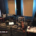 The string quartet setup