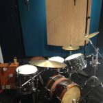 Ultimate Studios, Inc - Marty O'Reilly and the Old Soul Orchestra Drum setup
