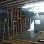 Building Ultimate Studios, Inc - Control Room taking shape