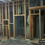 Building Ultimate Studios, Inc - The Control Room/ISO Booth wall