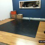 Building Ultimate Studios, Inc - Control Room floor coming together