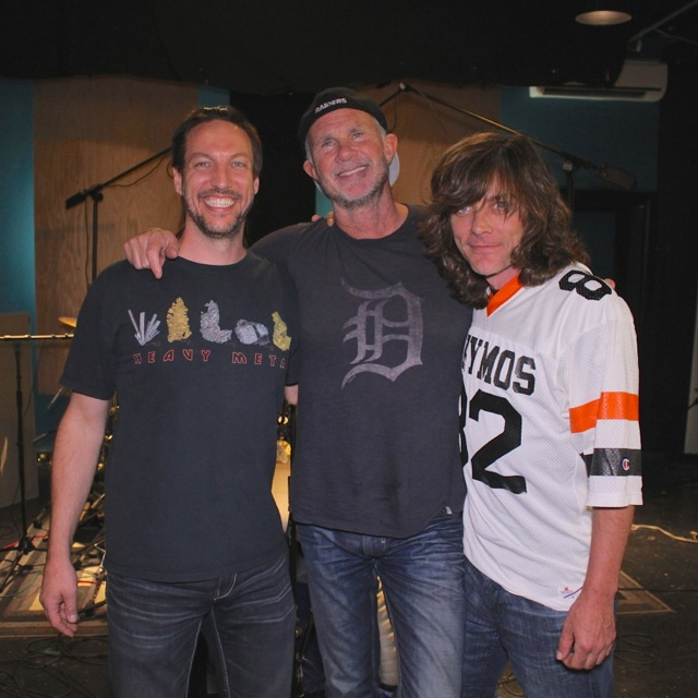 Recording with Chad Smith (w/Video)