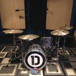 """Lucas Bomeny's drumset for the Duranbah album """"Runaway"""" at Ultimate Studios, Inc"""