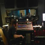 Recording & MIxing engineer Charlie Waymire working with Duranbah at Ultimate Studios, Inc