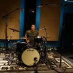 Drum guest Jeff Bowders at the Drum Recording Ninja Workshop