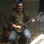 Augustus McCloskey playing Banjo at Ultimate Studios Inc for kalynne michelle