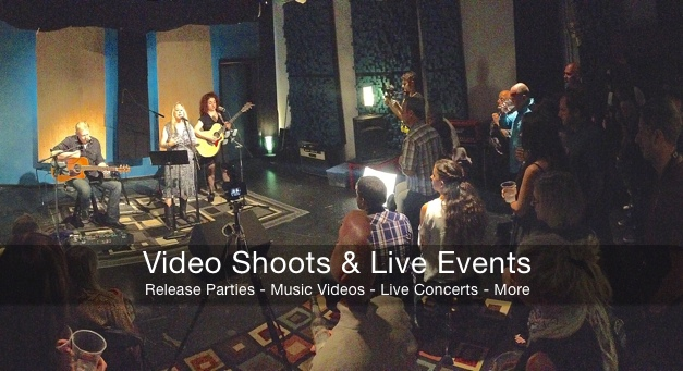 Host Live Studio Concerts, Release Parties, & V.I.P Events