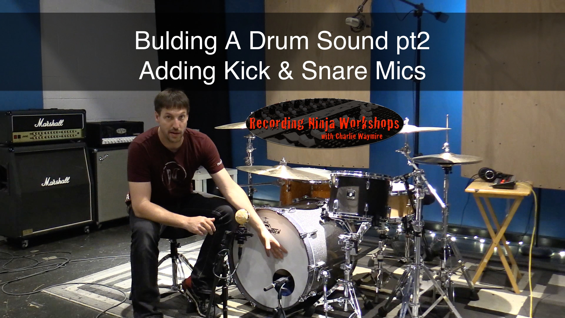 Building A Drum Sound pt2 Is Up!