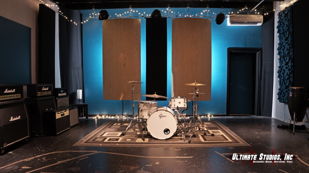 Gretsch Drums at Ultimate Studios, Inc