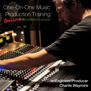Online music production lessons with Charlie Waymire at Ultimate Studios, Inc. Learn how to record, how to mix, how to setup a patchbay