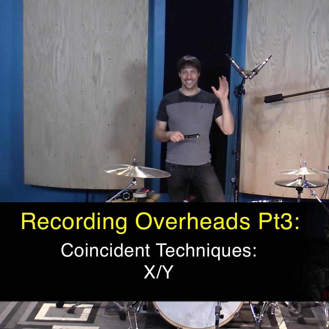 recording overheads pt3: coincident pairs xy