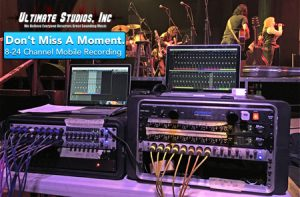Mobile Recording from Ultimate Studios, Inc