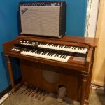 Record with the Hammond Organ at Ultimate Studios, inc in van Nuys, CA