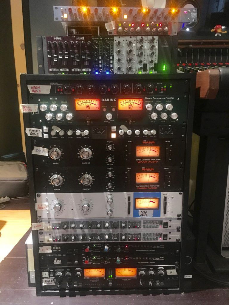 Analog gear - Tonelux - Rupert Neve - Neve - Trident A Range - Overstayer - 1176 at Ultimate Studios, inc