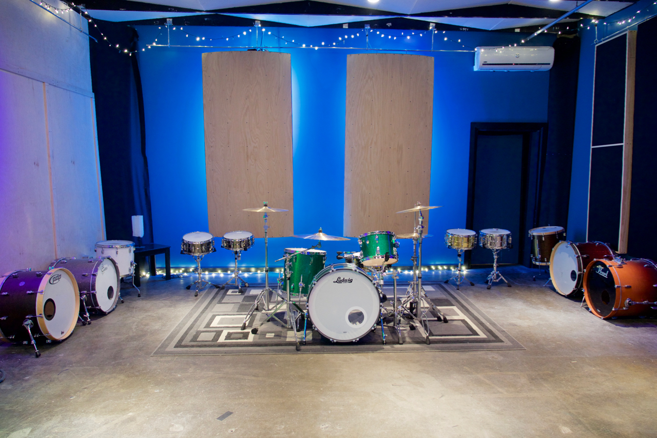 Affordable drum recording studio in los angeles