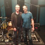 Josh Freese recording drums with Charlie Waymire at Ultimate Studios, Inc Los Angeles