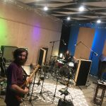 recording the full band live with paracosmic los angeles