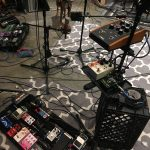 Lots of guitar pedals and fx recording with paracosmic
