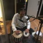 recording tabla with paracosmic at Ultimate Studios, Inc los angeles