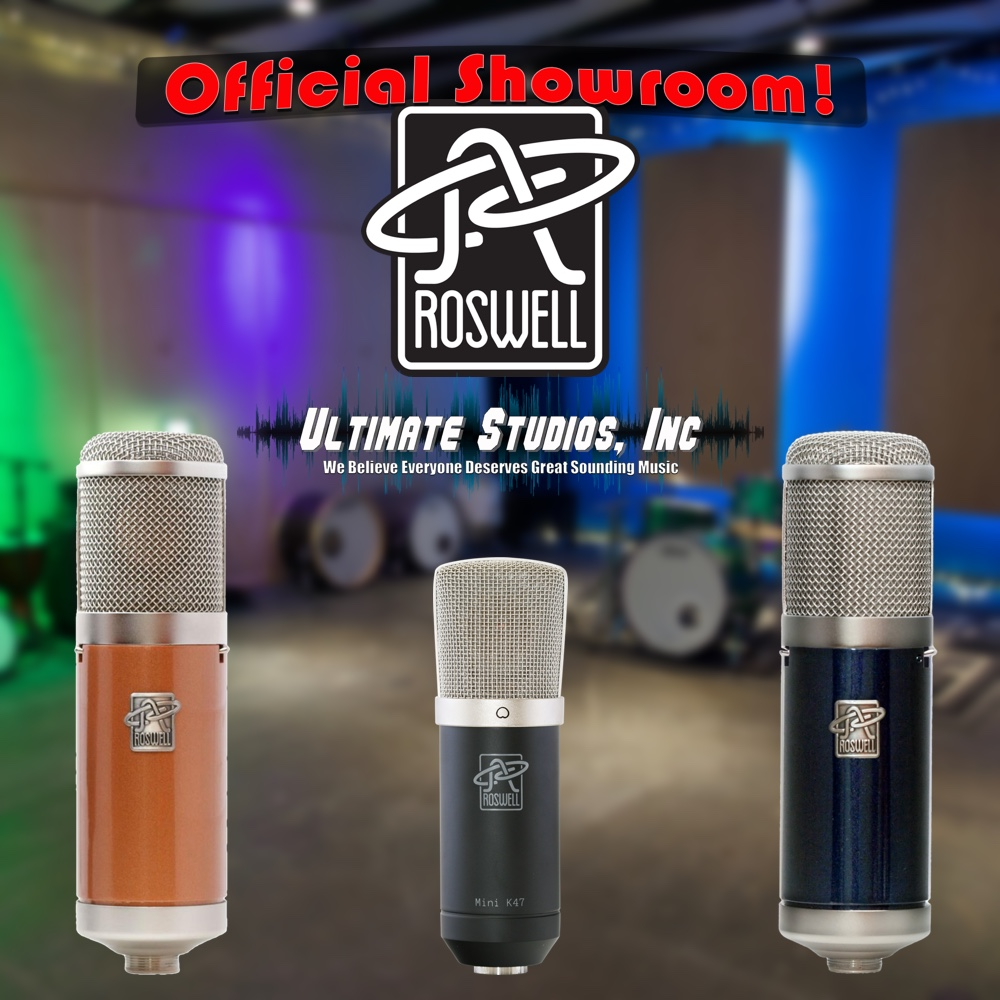 Roswell Pro Audio Official Showroom!