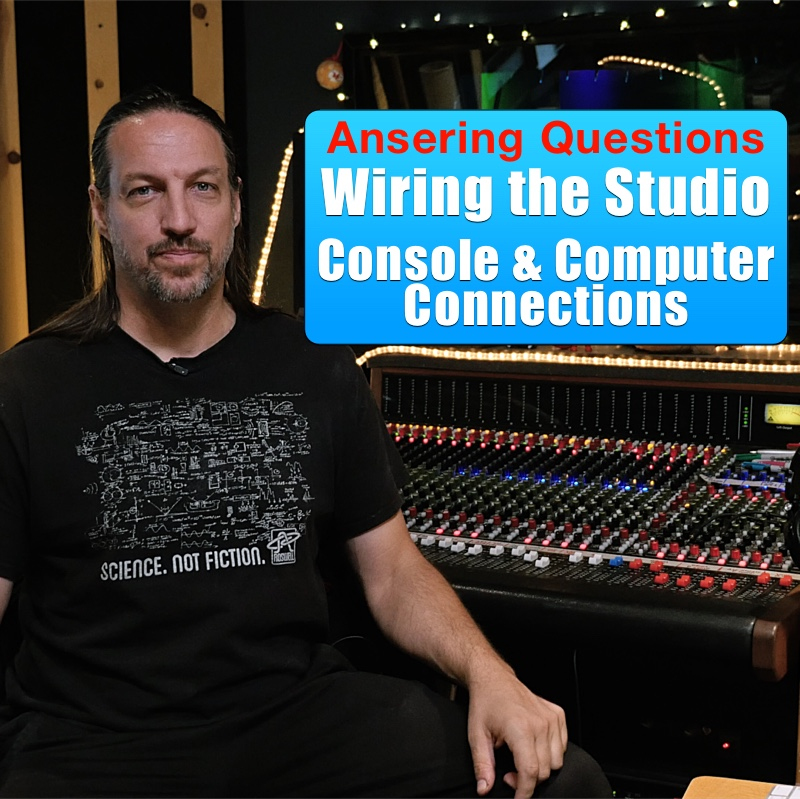Wiring A Recording Studio: Connecting the Console to the Computer