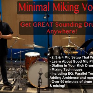 Minimal Miking Setups - How To Record Drums