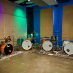 pearl, Ludwig and gretsch drums at Ultimate Studios, inc los angeles