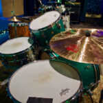Ludwig and paiste at Ultimate Studios, Inc los angeles