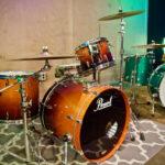 pearl drums at Ultimate Studios, Inc los angeles
