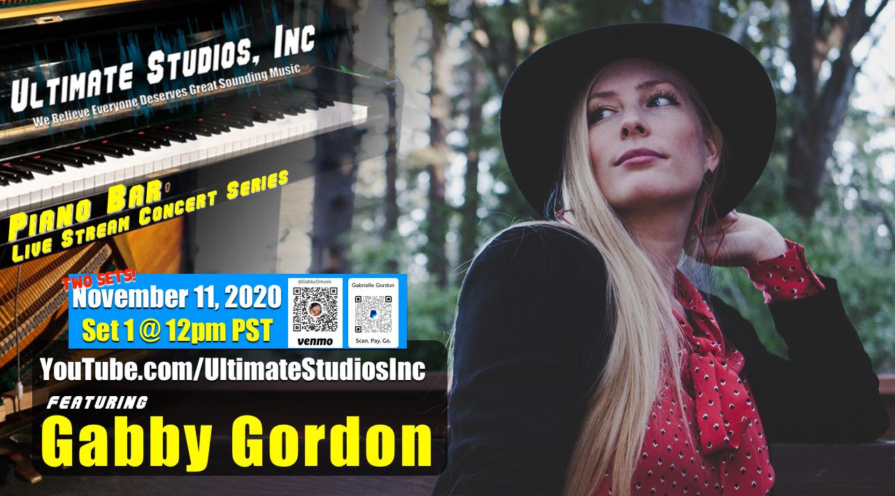 Piano Bar Sessions featuring Gabby Gordon! Set 1