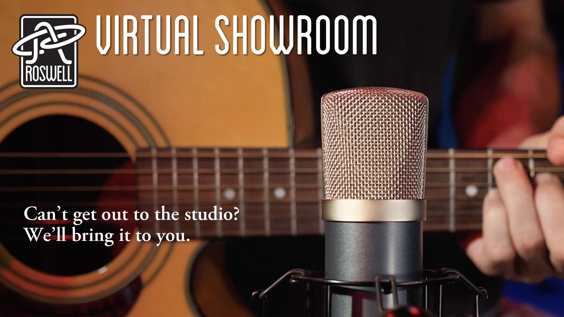 Roswell Pro Audio Virtual Showroom EP1