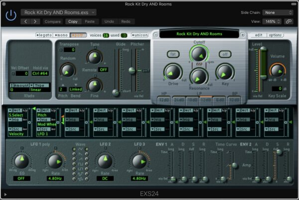 Drum Samples Ultimate Studios Inc Logic Pro EXS24