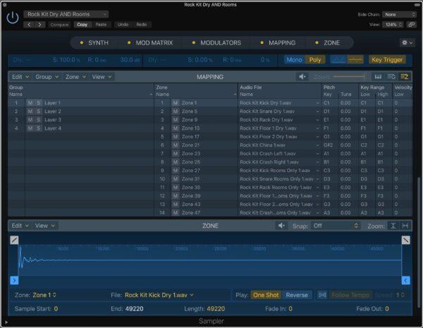 Drum Samples Ultimate Studios Inc Logic Pro Sampler