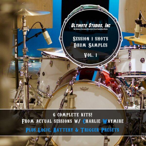 Drum Samples for Logic Sampler, Native Instruments Battery, Slate Trigger